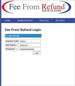 Fee From Refund Login